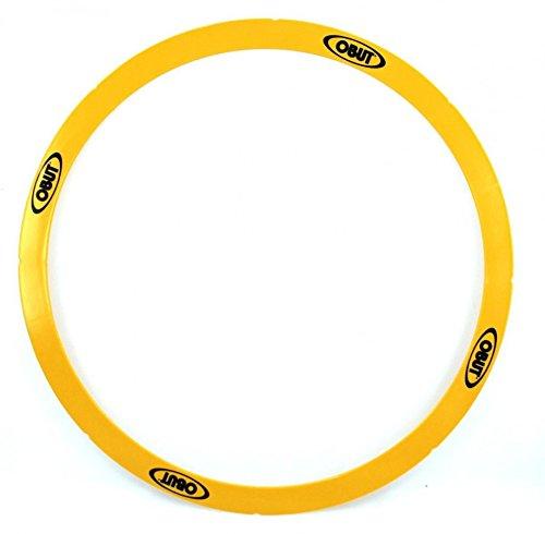 Obut Rond de Pétanque 50cm gelb, starrer Boule Abwurfkreis