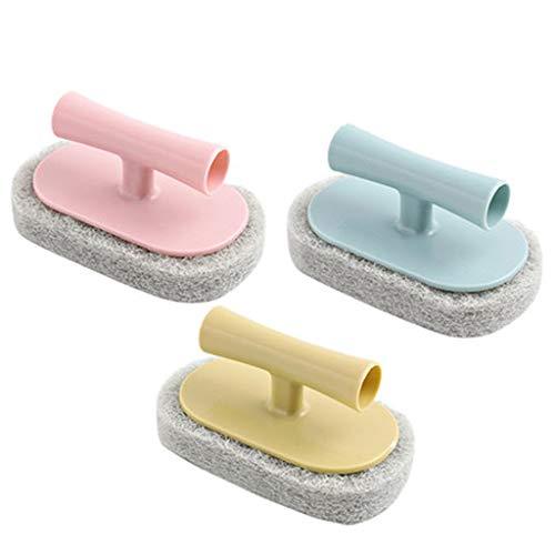 LLKK Cepillo de Limpieza de Cocina,Suave y cómodo,Buena Limpieza,Cepillo de Limpieza para baldosas Piso de Esponja