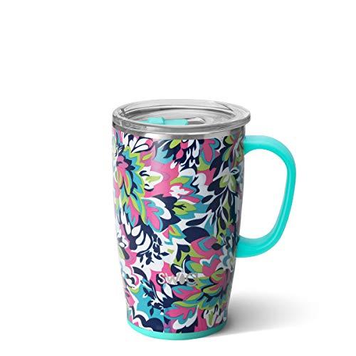 Swig Life 18oz Triple Insulated Travel Mug with Handle and Lid