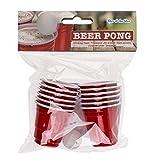 Out of the Blue 79/3933 – Juego de Beber Mini Beer Pong, con 2 Bolas y 12 Vasos, para Aprox. 60 ml