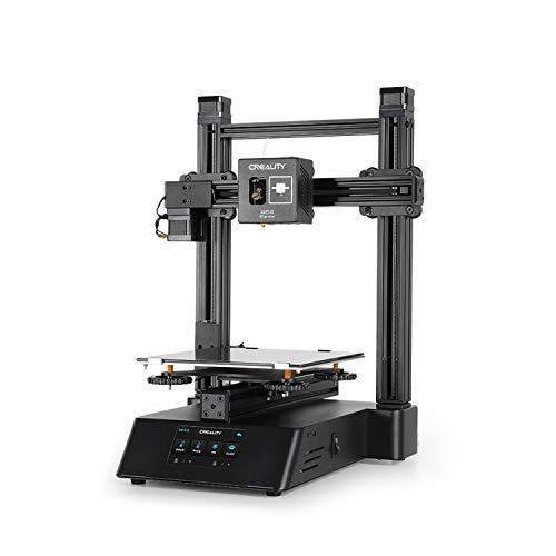 Aibecy 3D-Drucker, 200 x 200 x 200 mm Build Vo-lume 10,9 cm Touchscreen Multifunktions-Gravurmaschine mit 8 GB TF-Karte Weiß PLA Probe Filament 200 g