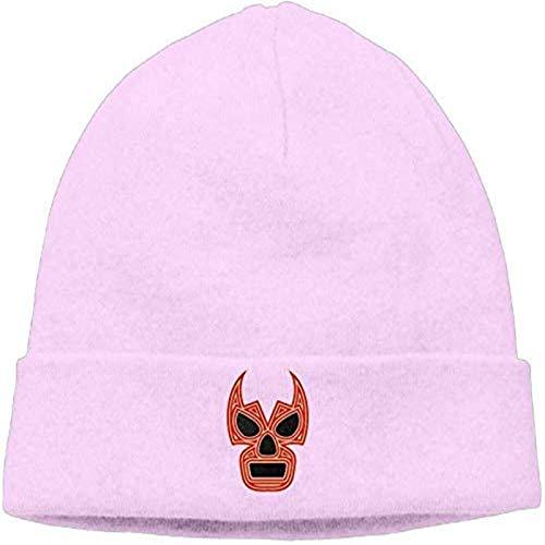 Lucha Underground - Pro Wrestling Unisex Knit Beanie Hat Fashion Watchcap Pink
