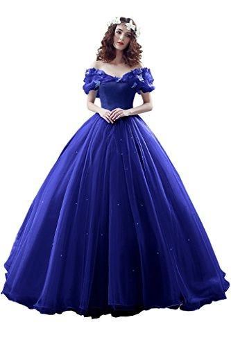 Promgirl House Vestido largo para mujer 2017 Maerchenhaft Princesa A Linie Ball,...