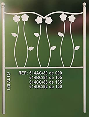 Cabecero y cama rústica Por seguridad y calidad compre la marca Rustiluz. Con 20 decoraciones a elegir El mayor catálogo en accesorios de forja. Fabricado en España.