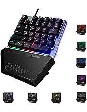 Jancal RGB 片手キーボード