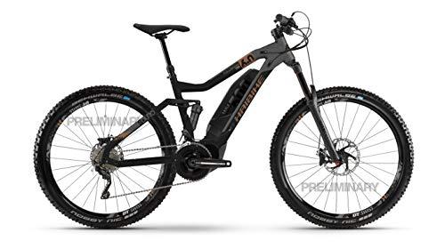 HAIBIKE SDURO FullSeven LT 6.0 Yamaha Elektro Bike 2020 (XL/52cm, Schwarz/Grau/Bronze)