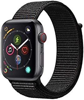AppleWatch Series4 (GPS+Cellular, 44mm) - Space Gray Aluminum Case with Black Sport Loop