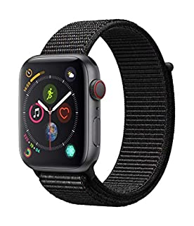 Apple Watch Series 4 (GPS + Cellular, 44mm) - Space Grey Aluminium Case with Black Sport Loop (B07JZVVJ8K) | Amazon price tracker / tracking, Amazon price history charts, Amazon price watches, Amazon price drop alerts