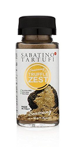 Sabatino Tartufi Truffle Zest Seasoning, The Original All Purpose Gourmet Truffle Powder, Plant Based, Vegan and Vegetarian Friendly, Low Carb, 1.76 oz …