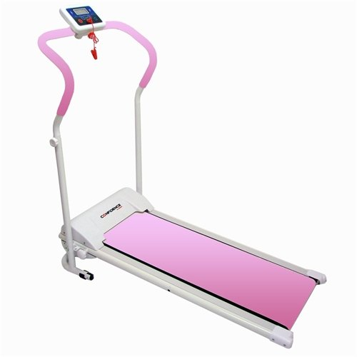 Confidence Power Plus Treadmill Run Machine Pink