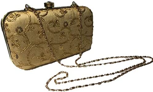 FGX Women's Evening Clutch Bags Wedding Purses Formal Party Clutches