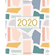 2020 Planner Weekly and Monthly: January to December: Colorful Abstract Cover (2020 Planner Series)