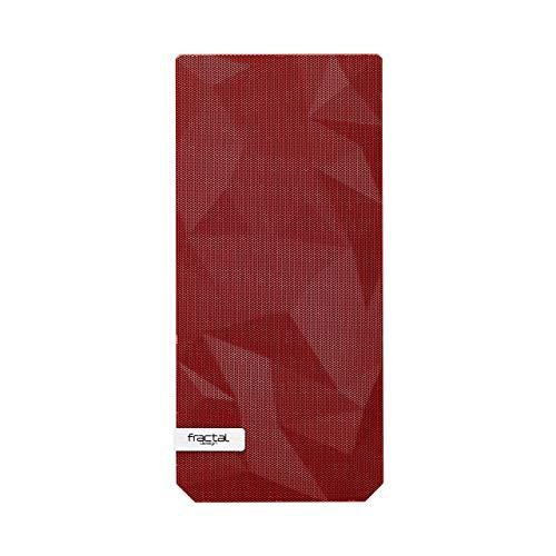 Fractal Design Pannello Meshify C - Pannello di ricambio - Filtro frontale incluso - Adatto a tutte le custodie ATX Meshify C - Filtro anteriore facile da pulire - Facile da installare - Rosso