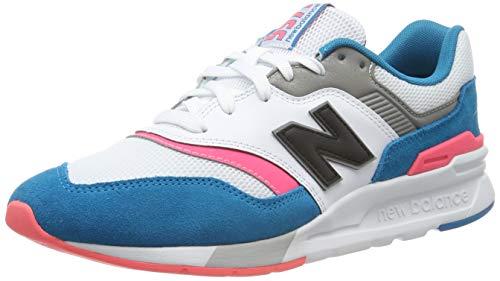 New Balance Men's 997H V1 Sneaker, Deep Ozone Blue/Guava, 9.5 D US