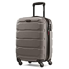 "20"" Spinner luggage maximizes your packing power and meets most carry-on size restrictions for those traveling domestically and looking to stay light Packing dimensions: 19"" X 14.5"" X 9.5"", overall dimensions: 22"" X 15"" X 9.5"", weight: 6.81 lbs. 10 y..."