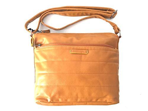 _ Brunotti BB4539-004 Shoulder Bag Schultertasche Handtasche Ocker Ochre M