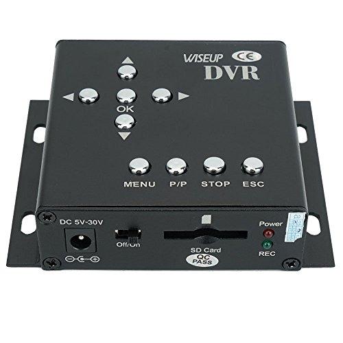 Wiseup 1Ch D1 Realtime Mini SD Card Car DVR Vehicle Mobile DVR