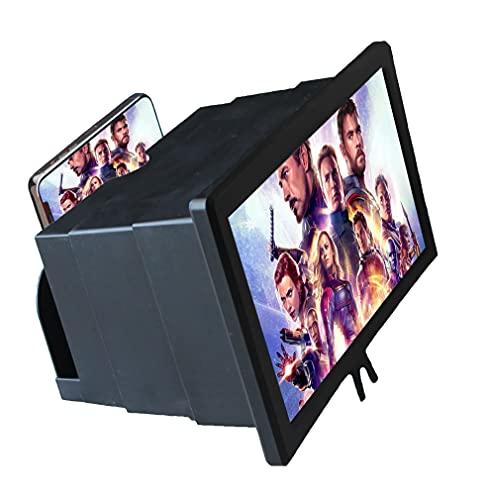 AGE Stars, Lente ingrandimento smartphone, ingranditore schermo 12  cellulare, richiudibile, ingrandisci e amplificatore per tutti i tipi di cellulari, trasforma cellulare in tv, 2021