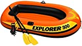 Kayak Boating Explorer 300 3 Person Inflatable Boat Sport Outdoor Travel