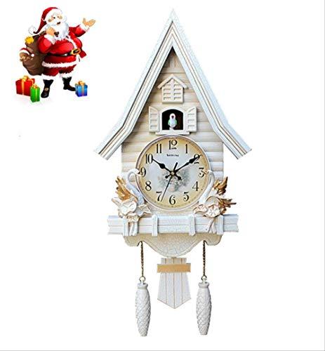tytlclock Reloj De Cuco, Sala De Estar, Dormitorio Habitación De Niños Encantadora Reloj De Pared Reloj Colgante De Dibujos Animados Reloj De Cuarzo Silencioso, 20 Pulgadas