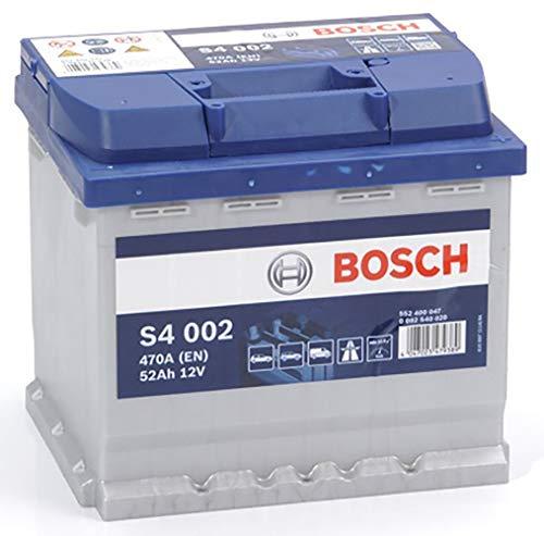 Bosch S4002 Autobatterie 52A/h-470A