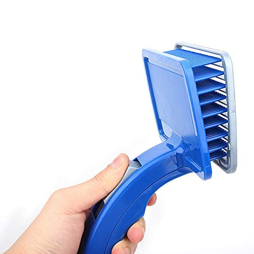 VODVO Self Cleaning Pet Dog Comb Hair Remover Pet Hair Shedding Comb Pet Dog Cat Brush Dog Grooming Slicker Brush Dog Supplies