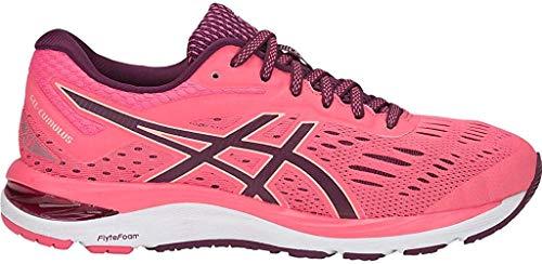 ASICS Women's Gel-Cumulus 20 Running Shoes, 9.5M, Pink Cameo/Roselle