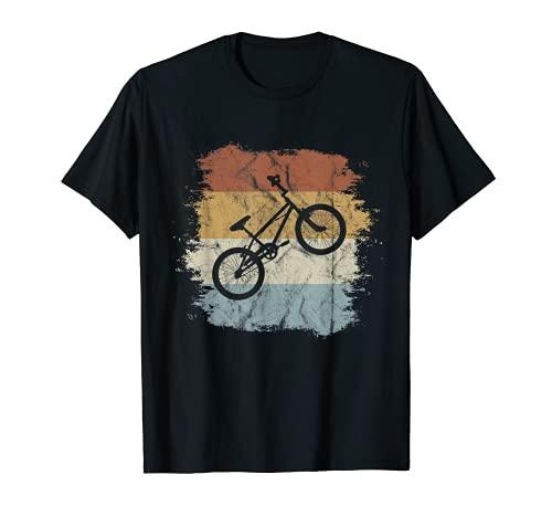 Old School BMX Fahrrad | Retro Style Dirtbike Cross-Rad T-Shirt