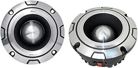 "Lanzar Upgraded Bullet Super Tweeter - Powerful Heavy Duty Aluminum -600 Watt Peak 2k - 20kHz Frequency Response and 4 Ohm w/ 102dB (1w/1m) Sensitivity and 1.75"" Kapton Voice Coil - Optidrive OPTIBT44"