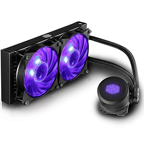 CYONGYOU Ventilador del radiador de refrigeración por Agua de la CPU B240 RGB