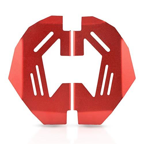Coperchio pinza Moto CNC Alluminio Frontale Pinza freno Pinza Pinza Protezione Guardia Fit For BMW R1200R LC Brake FRONT Pinza freno anteriore Copertura calibro Coperture calibro (Color : Red)