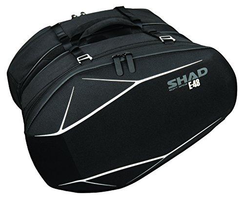 SHAD X0SE48 Bolsa Lateral, Negro