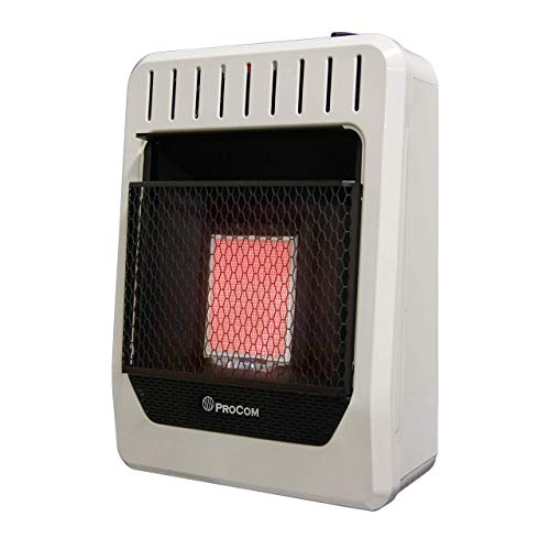 ProCom MN1PHG Natural Gas Ventless Infrared Plaque Heater,...