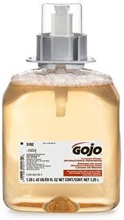 GOJO 5162-03 FMX Luxury Foam Antibacterial Handwash 1250ml 3/Case, N/A by GOJO