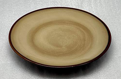 Sango Nova-Brown Salad Plate, Fine China