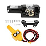 Off-Road Winch, Electric Winch Mechanical Accessory Industrial Tool 12V 3500lb Durable for Off-Road Vehicle &...