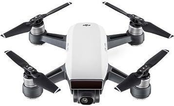 DJI Spark Portable Mini Quadcopter Drone w/1080p Camera and Free 16GB Micro SD Card,Alpine White