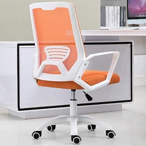 Elegante silla oficina, silla giratoria Silla de escritorio de oficina con reposabrazos | Silla Ejecutiva Ergonómica de trabajo | Silla de computadora ajustable Negro | para recepción Sala de conferen