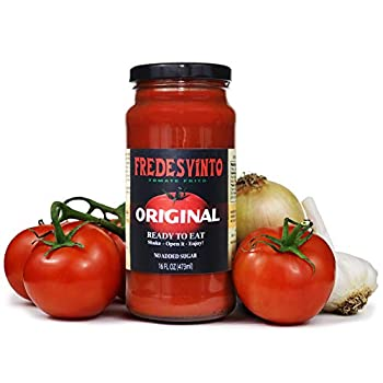 Fredesvinto Tomate Frito Extra Thick and Hearty Pasta Sauce 100% Natural Fried Tomato Made in USA  2 Pack