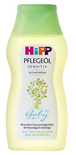Hipp Babysanft Pflegeöl, 4er Pack (4 x 200ml)