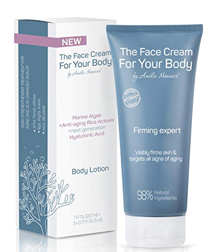 Crepe Firming Advanced Cream - European Hi-tech Skin care - Hyaluronic Acid in the 50-3000 kDa Molecular Spectrum - Tightening & Lifting Collagen Repair Treatment - Best for Body, Face and Neck 7.5 oz
