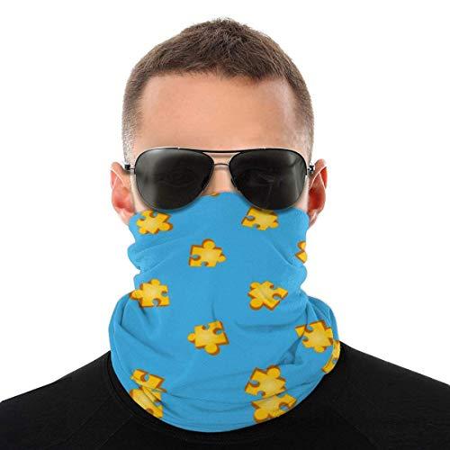 Banjo Kazooie Jiggy Puzzle Pieza Patrón Camisa Variedad Pañuelo para la Cabeza Cuello Mascarilla Al Aire Libre Headwear Polaina Bandanas para Hombres y Mujeres