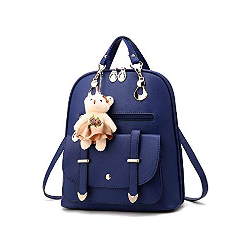 Moda Mochila pequeña Monedero para mujeres niñas adolescentes Mini mochilas impermeables Bolso hombro informal Mini pu Mochila cuero niñas Satchel