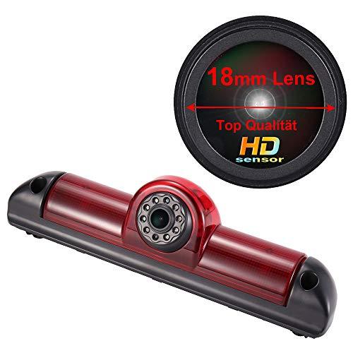 1280 * 720 Pixel 1000TV linee Super HD Telecamera Auto Posteriore, Visione Notturna IR Telecamera Retromarcia per FIAT Ducato X250 X290 Bus Kasten/Peugeot Boxter/Citroen Jumper