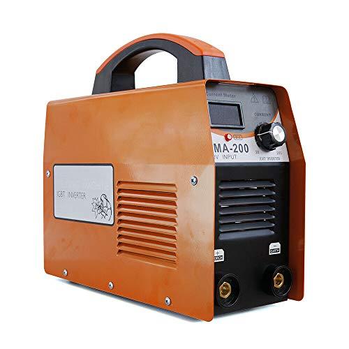 Dispositivo de soldadura inverter, 220 V, 20-120 A, IGBT ARC MMA-200, para trabajos aéreos, trabajos de campo, decoración de interiores, mantenimiento