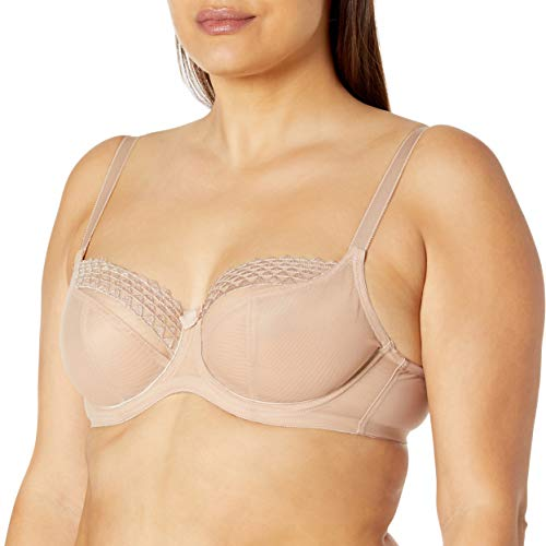 Cleo by Panache Women's Demi, Latte, 34F