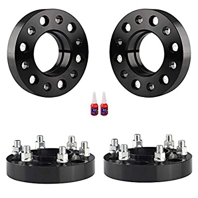 FLYCLE 1.25 inch Hubcentric Wheel Spacers 6x135 with 14x2 Studs Compatible with 2004-2014 F-150,2003-2014 Navigator,2003-2014 Expedition