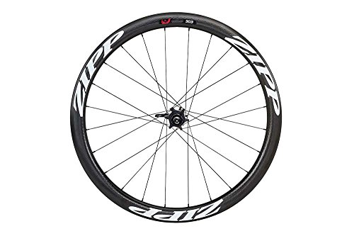 Zipp 303 Carbon Clincher Disc Brake V2 177D Rear 24 Spokes 10/11 Speed Campagnolo Decal - Rueda para bicicletas, color blanco