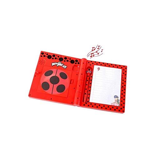 Bandai – Miraculous Ladybug – Diario interactivo – habla francesa – Role Play – 82958