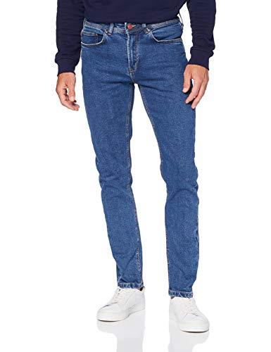 Springfield Jeans Skinny Salt Pepper (Web+50)-c/14 Pantalones, Azul (Medium_Blue 175740714), 40 (Tamaño del Fabricante: 40) para Hombre